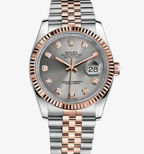 Replica Rolex Datejust 36 mm Watch : Everose Rolesor - kombinati