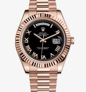Replica Rolex Day-Date II Watch : 18 kt Everose gold - M218235 -