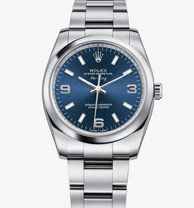 Replica Rolex Air -King reloj: acero 904L - M114200 -0001 [a995]