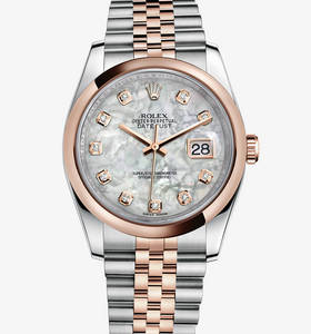 Replica Rolex Datejust 36 mm Watch : Everose Rolesor - yhdistelm