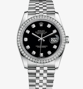 Replica Rolex Datejust 36 mm Watch : Valkoinen Rolesor - yhdiste