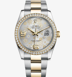 Replica Rolex Datejust 36 mm Watch : Yellow Rolesor - yhdistelmä