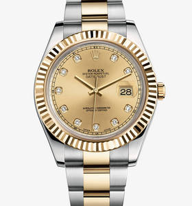 Replica Rolex Datejust II Watch : Yellow Rolesor - yhdistelmä 90