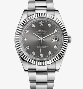 Replica Rolex Datejust II Watch: White Rolesor - combination of 904L steel and 18 ct white gold – M116334-0009 [4ed9]