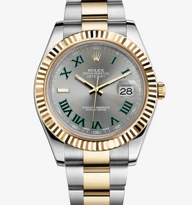 Replica Rolex Datejust II Watch: Yellow Rolesor - combination of 904L steel and 18 ct yellow gold – M116333-0001 [afde]