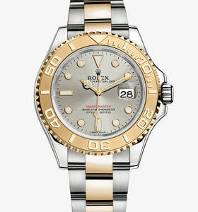 Replica Rolex Yacht-Master Watch: Yellow Rolesor - combination of 904L steel and 18 ct yellow gold – M16623-0008 [213d]