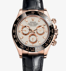 Replica Rolex Cosmograph Daytona Watch: 18 ct oro Everose - M116515LN - 0003 [9c8c]