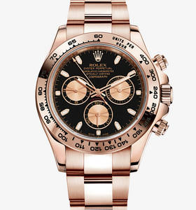 Replica Rolex Cosmograph Daytona Watch: 18 ct oro Everose - M116505 - 0002 [4031]