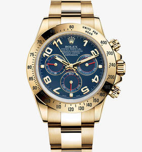 Replica Rolex Cosmograph Daytona Watch: oro giallo 18 ct - M116528 - 0037 [4b73]