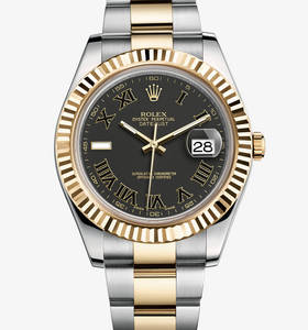 Replica Rolex Datejust II Watch: Yellow Rolesor - combination of 904L steel and 18 ct yellow gold – M116333-0002 [7658]
