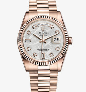 Реплика Rolex Day-Date Watch: 18-каратное золото Everose - M118235F -0026 [a961]